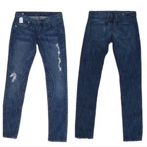 The Unknown Factory || Distressed Skinny Jeans